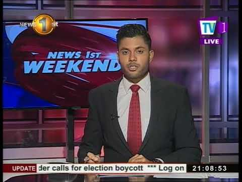News 1st English Prime Time, Saturday, October 2017, 9PM (21-10-2017)