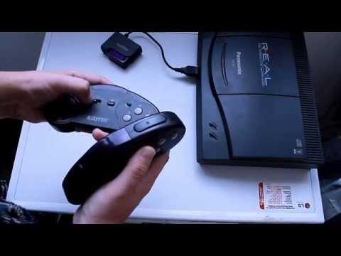 Обзор игровой приставки Panasonic 3DO FZ-10 R.E.A.L. Interactive Multiplayer Часть первая