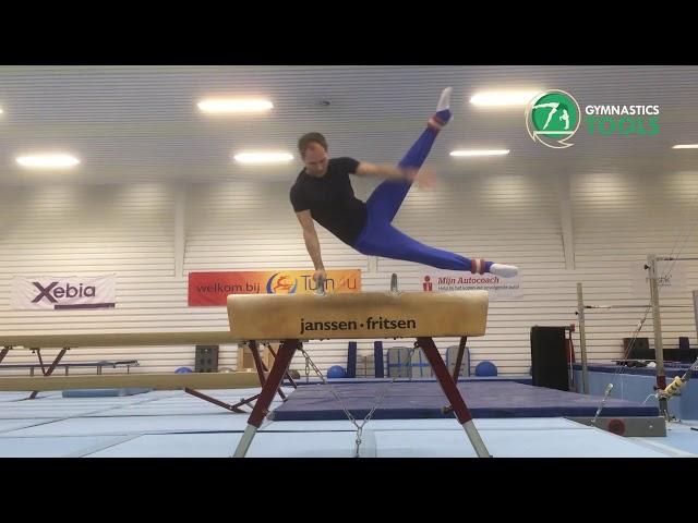 Scissor Drills & Exercises Pommel Horse Gymnastics