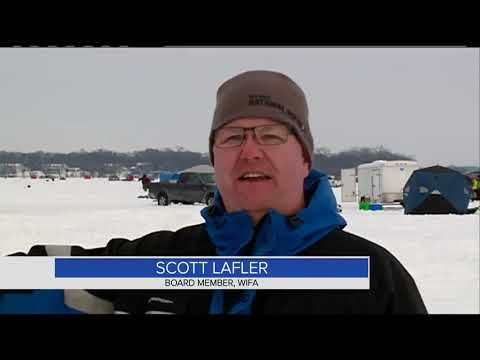 Ice Fishing Tournament Brings High School Students From All Over Wisconsin To La Crosse