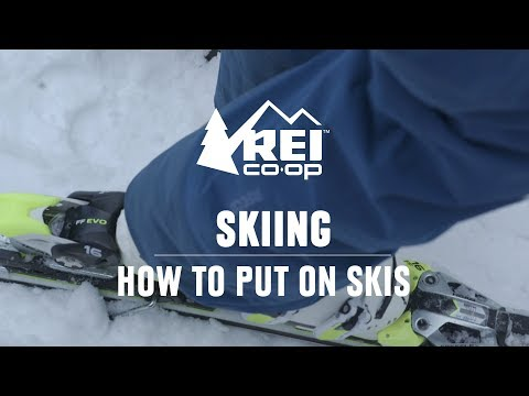 How To Put On Skis || REI