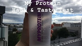 My Protein Active Woman & Vegan Products - Haul & Review