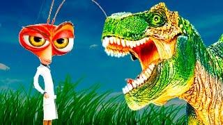 Про НАСЕКОМЫХ для детей. ТАРАКАНЫ- 300 миллионов лет на Земле! КАК!? ДИНОЗАВРЫ и ТАРАКАН