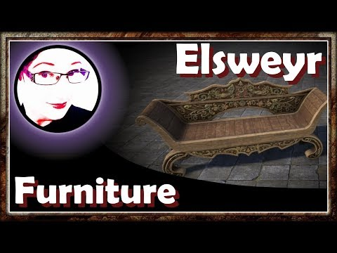 ❄️These are lovely! | Furnishing Pack | ESO Housing Elsweyr | Icy Talks 20190416 #ESO #Elsweyr |