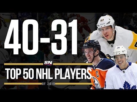 Top 50 NHL Players of 2019 - 40-31