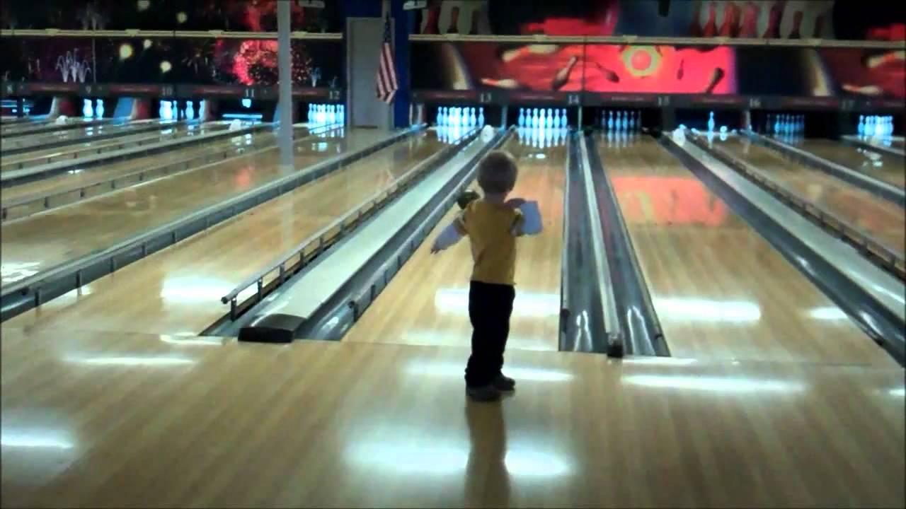 kids go bowling youtube