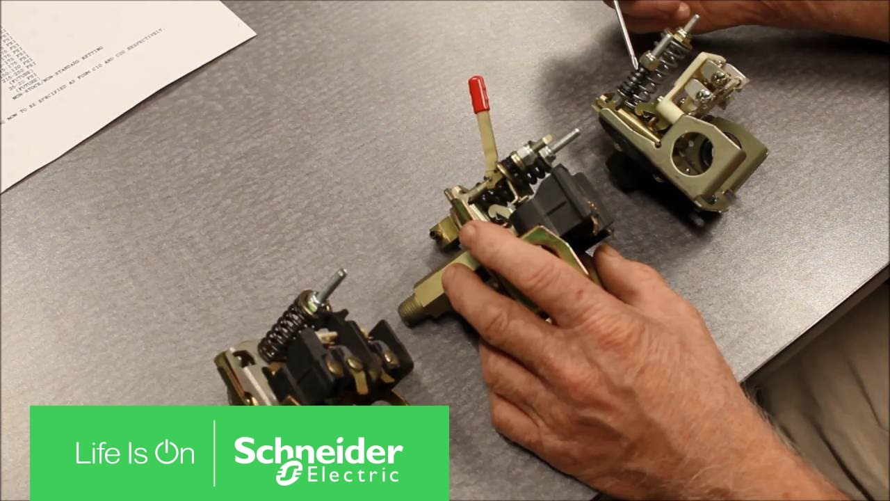 adjusting rating of square d™ 9013 power pressure switch | schneider  electric support
