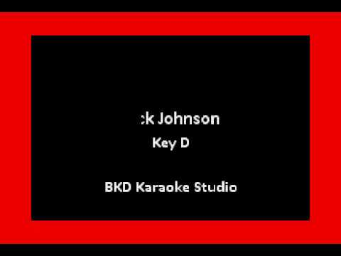 My Mind Is On Sale (In the Style of Jack Johnson) (Karaoke with Lyrics)