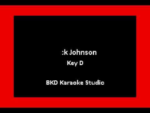 My Mind Is On Sale In the Style of Jack Johnson Karaoke with Lyrics