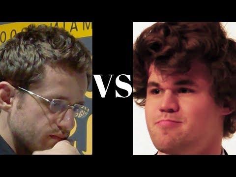 Levon Aronian vs Magnus Carlsen : Altibox Norway Chess (2017) · Semi-Slav Defense