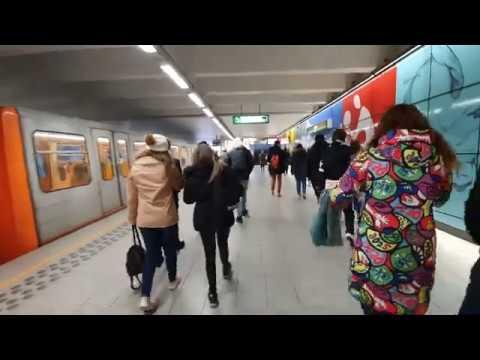 Brussels metro brouckère 2020