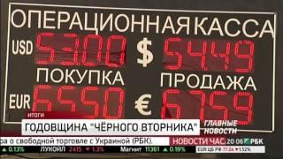 Хроники «чёрного вторника»: как беднели россияне