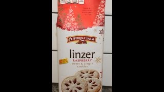 Pepperidge Farm: Linzer Raspberry Cookies Review