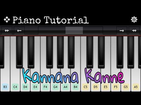 Kannane Kanney Piano Notes | Viswasam | Tamil Piano