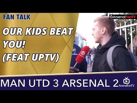 Our Kids Beat You! (Feat UPTV)  | Man Utd 3 Arsenal 2