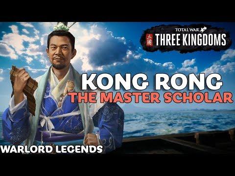KONG RONG: The Master Scholar | Total War: Three Kingdoms - Warlord Legends