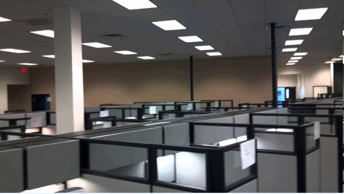 Konica Minolta Tempe, Arizona Herman Miller Cubicle Installation   Office  Furniture   YouTube