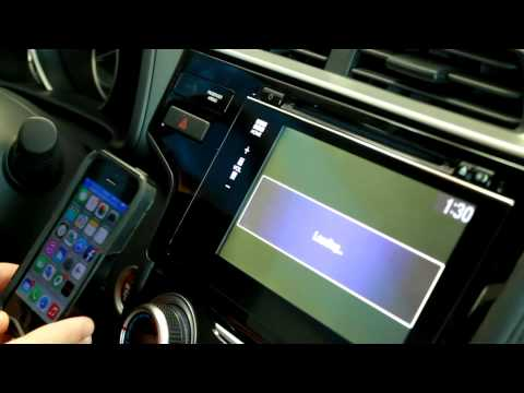 How to Connect your iPhone to HondaLink Navigation