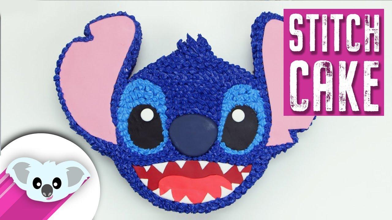 Stitch Cake Lilo And Stitch Disney How To Youtube