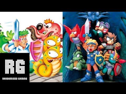 Wonder Boy: The Dragon's Trap - Sega Master System & Game Gear comparison