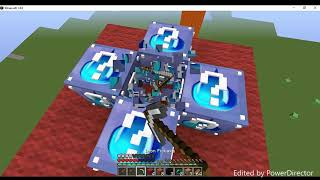 Minecraft: Escadona - Lucky Block Da Aguá! [Vegetto_SSJ2]