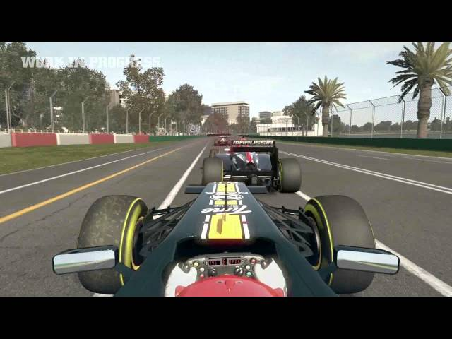F1 2011 Dev Diary 1 and some impressions