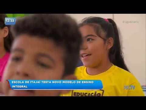 Escola de Itajaí testa novo modelo de ensino integral