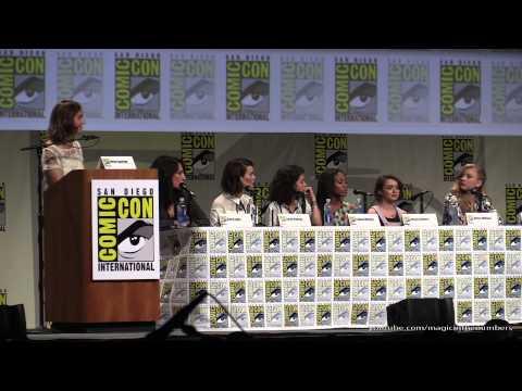 Women Who Kick Ass panel, SDCC 2014