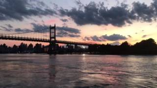 30-Second Sacred: 3. Triborough Bridge at sunset, NYC