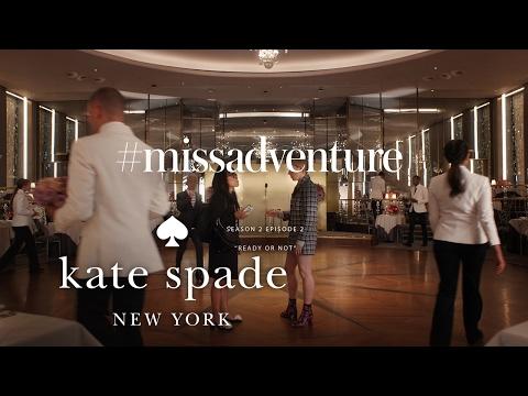 zosia mamet, sarah jones & ali wong in #missadventure: ready or not (s2)   kate spade new york