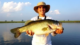 I CAUGHT A GIANT BASS!