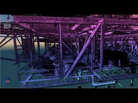 Plateforme Offshore 3D