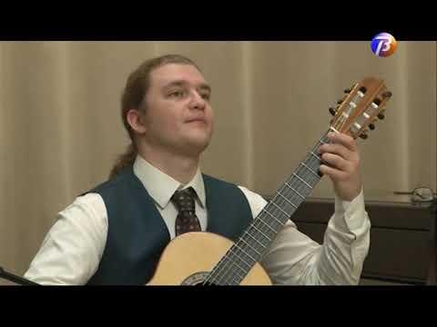 Выкса ТВ: Роман Зорькин - гитарист-виртуоз.