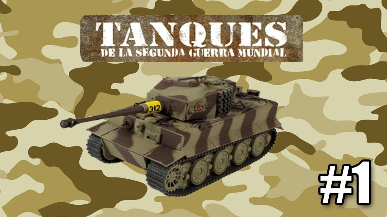 nueva coleccion tanques de la segunda guerra mundial