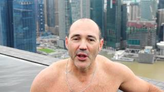 Marina Bay Sands Pool Interview