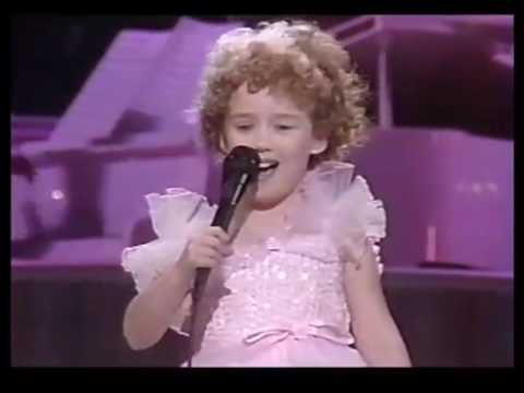 Ashley Johnson Star Search 1989
