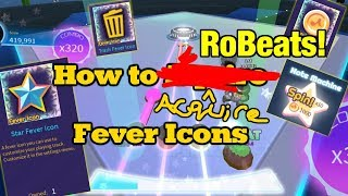 How to Acquire Fever Icons! | New Note Customization Update | RoBeats! (ROBLOX)