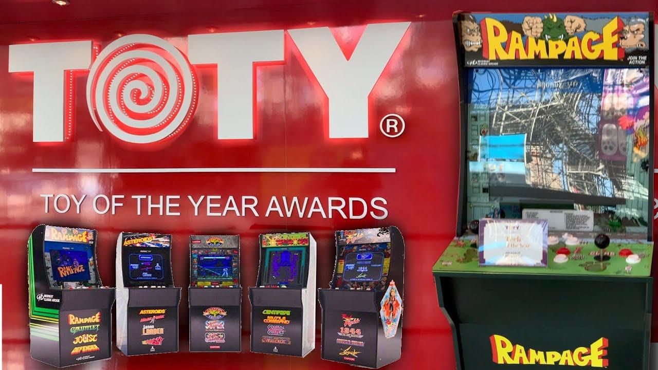 Arcade1Up's 2019 Lineup: Space Invaders, Mortal Kombat