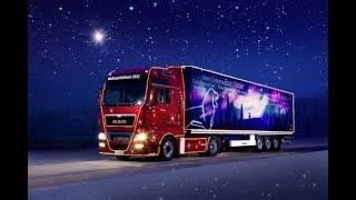 Euro Truck Simulator 2 (19.12.2018) Доставка подарков Новогоднего евента!