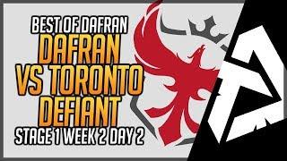 dafran POV Vs Toronto Defiant Beautiful Game - Overwatch League Season 2