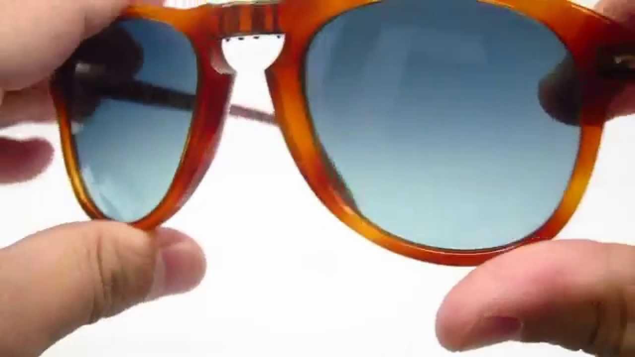8887e0583e2 Persol 714-SM Steve McQueen 96 S3 Sunglasses - YouTube