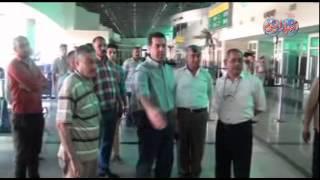 محافظ أسيوط يتفقد مطار أسيوط الدولي تمهيداً لإفتتاحه نهاية يونيوp^f