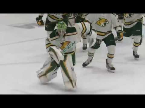 Ron And JP - Northern Michigan Goalie Becomes 11th Goalie In NCAA History To Score Goal