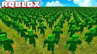 MY ARMY OF ZOMBIES! Roblox