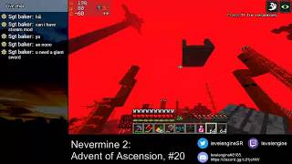 MINECRAFT Livestreams Get All Items ~ Nevermine 2: Advent of Ascension (#20)