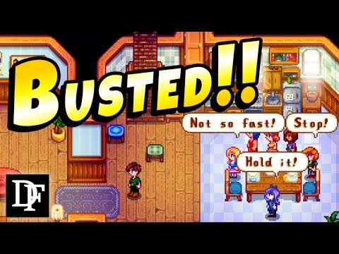 CAUGHT Dating The Entire Town! - Stardew Valley 1.3