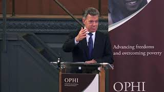 Distinguished Lecture 2018: Former President of Colombia and Nobel Peace Laureate Juan Manuel Santos
