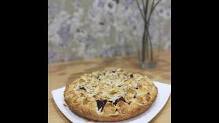 Сливовый пирог с орехами Безумно вкусный