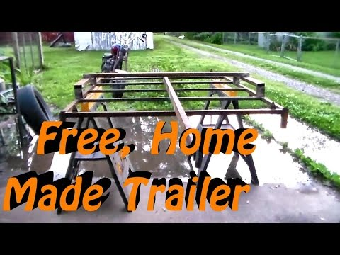 Free Yard Trailer Build