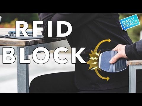 RFID Blocking,  Best RFID Wallet Blocking Card Protector ► The Deal Guy